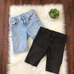 Bundle of denim shorts from H&M!